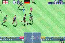 International Superstar Soccer ingame screenshot