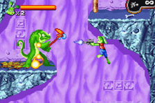 Jazz Jackrabbit ingame screenshot