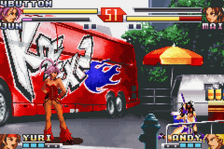 King of Fighters EX2, The - Howling Blood ingame screenshot