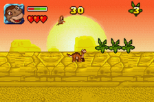 Land Before Time, The ingame screenshot