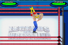 Legends of Wrestling II ingame screenshot