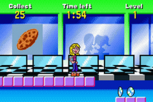 Lizzie McGuire - On the Go! ingame screenshot