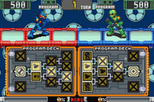Mega Man Battle Chip Challenge ingame screenshot
