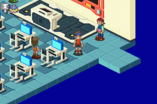 Mega Man Battle Network 2 ingame screenshot