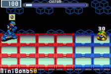 Mega Man Battle Network 3 - White Version ingame screenshot