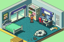 Mega Man Battle Network 4 - Red Sun ingame screenshot