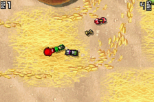 Micro Machines ingame screenshot