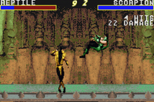 Mortal Kombat Advance ingame screenshot