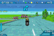 Motoracer Advance ingame screenshot