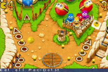 Pac-Man Pinball Advance ingame screenshot