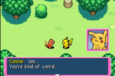 Pokemon Mystery Dungeon - Red Rescue Team ingame screenshot