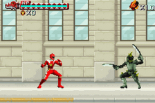 Power Rangers - Dino Thunder ingame screenshot