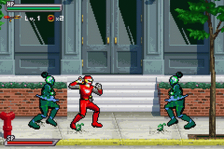 Power Rangers - Ninja Storm ingame screenshot