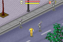 Power Rangers - Wild Force ingame screenshot