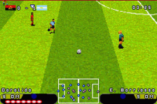 Premier Action Soccer ingame screenshot