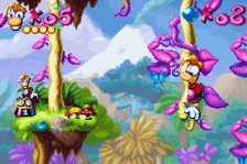 Rayman Advance ingame screenshot