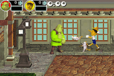 Shrek - Super Slam ingame screenshot