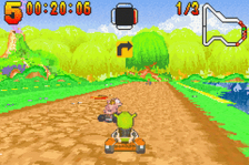 Shrek - Swamp Kart Speedway ingame screenshot