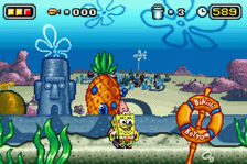 SpongeBob SquarePants Movie, The ingame screenshot