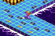 Spyro - Attack of the Rhynocs ingame screenshot