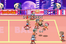 Super Dodge Ball Advance ingame screenshot