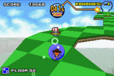 Super Monkey Ball Jr. ingame screenshot