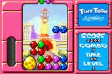 Tiny Toon Adventures - Wacky Stackers ingame screenshot