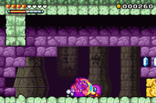 Wario Land 4 ingame screenshot