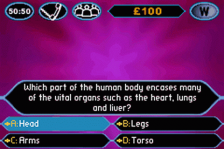 Who Wants to Be a Millionaire - 2nd Edition ingame screenshot