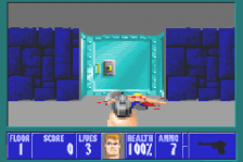 Wolfenstein 3D ingame screenshot