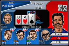 World Poker Tour ingame screenshot