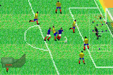 Zidane Football Generation ingame screenshot