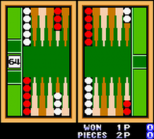 Backgammon ingame screenshot