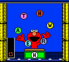 Elmo's ABCs ingame screenshot