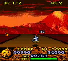 Halloween Racer ingame screenshot