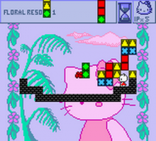 Hello Kitty's Cube Frenzy ingame screenshot