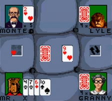 Hoyle Card Games ingame screenshot