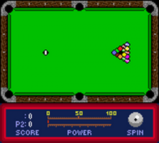 Jimmy White's Cueball ingame screenshot