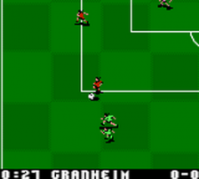Mia Hamm Soccer Shootout ingame screenshot