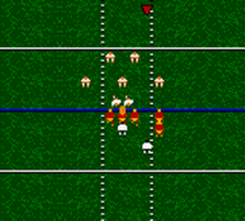 NFL Blitz 2001 ingame screenshot