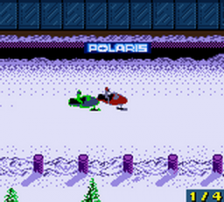 Polaris SnoCross ingame screenshot