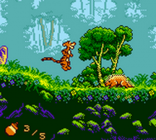 Pooh and Tigger's Hunny Safari ingame screenshot