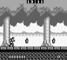 Castlevania Adventure, The ingame screenshot
