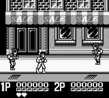 Double Dragon II ingame screenshot