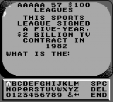 Jeopardy! - Sports Edition ingame screenshot