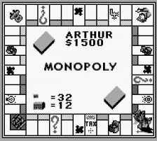 Monopoly ingame screenshot