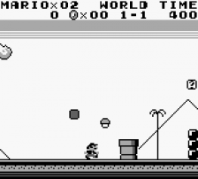 Super Mario Land ingame screenshot