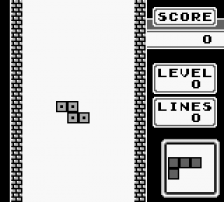 Tetris ingame screenshot