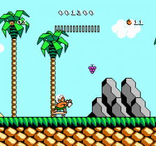 Adventure Island 3 ingame screenshot