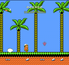 Adventure Island II ingame screenshot